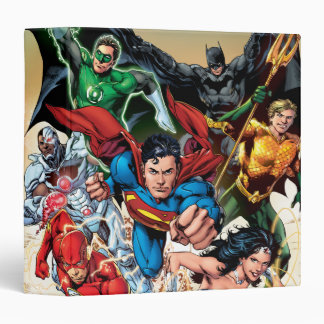 The New 52 Cover #1 4th Print Binder