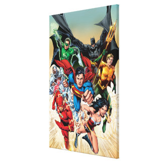 The New 52 Cover 1 4th Print Gallery Wrapped Canvas