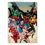 The New 52 Cover #1 4th Print Card