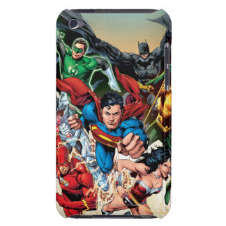 The New 52 Cover #1 4th Print Barely There iPod Case