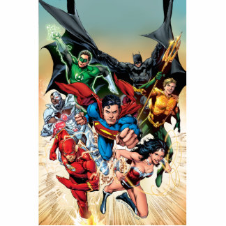 The New 52 Cover #1 4th Print Cutout