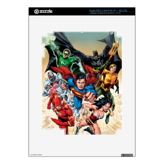 The New 52 Cover #1 4th Print iPad 3 Skin
