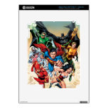 The New 52 Cover #1 4th Print iPad 3 Skins