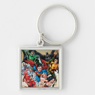 The New 52 Cover #1 4th Print Keychain