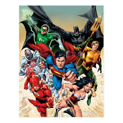 The New 52 Cover #1 4th Print Postcard