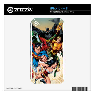 The New 52 Cover #1 4th Print Skins For iPhone 4S