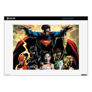 """The New 52 Cover #1 Finch Variant 15"""" Laptop Decal"""