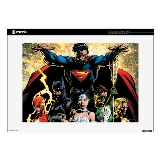 "The New 52 Cover #1 Finch Variant 15"" Laptop Decal"