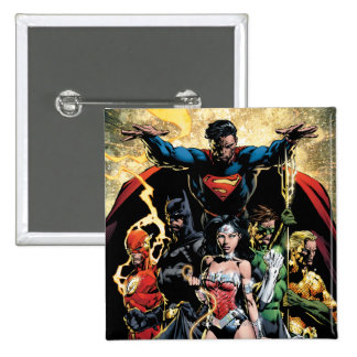 The New 52 Cover #1 Finch Variant 2 Inch Square Button