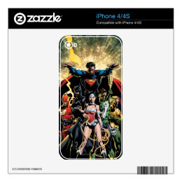 The New 52 Cover #1 Finch Variant iPhone 4 Decal