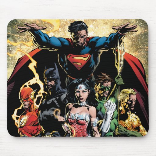The New 52 Cover #1 Finch Variant Mouse Pads