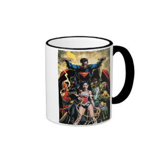 The New 52 Cover #1 Finch Variant Ringer Coffee Mug