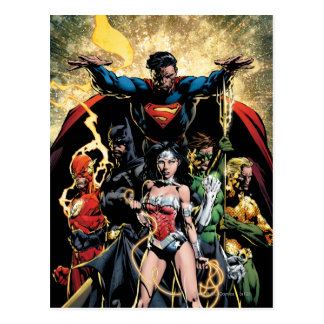 The New 52 Cover #1 Finch Variant Post Card
