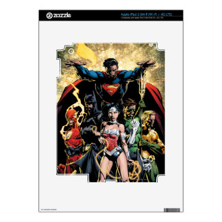 The New 52 Cover #1 Finch Variant Skins For iPad 3