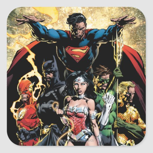 The New 52 Cover #1 Finch Variant Square Sticker