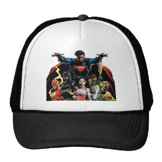 The New 52 Cover #1 Finch Variant Trucker Hat