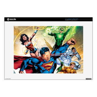 """The New 52 Cover #2 15"""" Laptop Skin"""