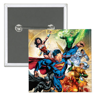The New 52 Cover #2 Button