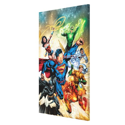 The New 52 Cover #2 Canvas Print