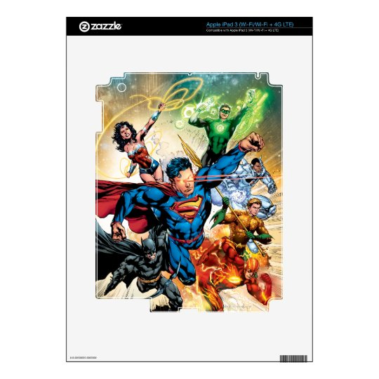 The New 52 Cover #2 Skin For iPad 3