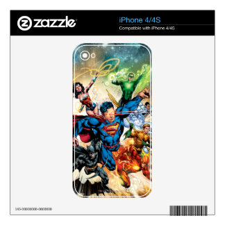 The New 52 Cover #2 Skin For iPhone 4