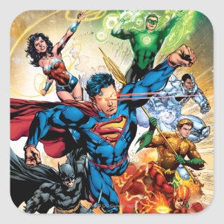 The New 52 Cover #2 Stickers