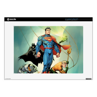 """The New 52 Cover #3 Capullo Variant 15"""" Laptop Decal"""