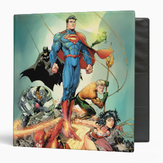 The New 52 Cover #3 Capullo Variant 3 Ring Binder