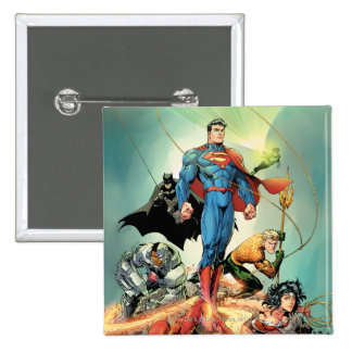 The New 52 Cover #3 Capullo Variant Button