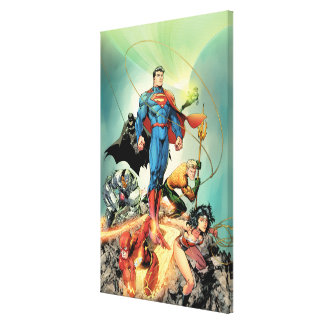 The New 52 Cover #3 Capullo Variant Canvas Print