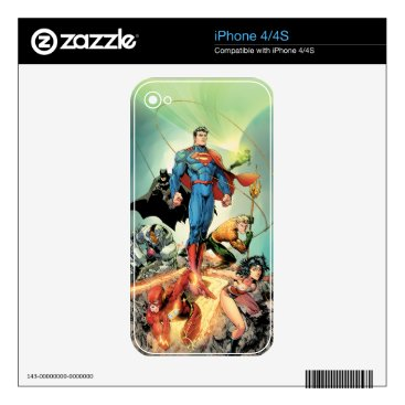 The New 52 Cover #3 Capullo Variant Decal For The iPhone 4S