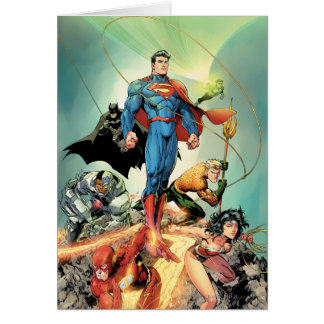 The New 52 Cover #3 Capullo Variant Greeting Card