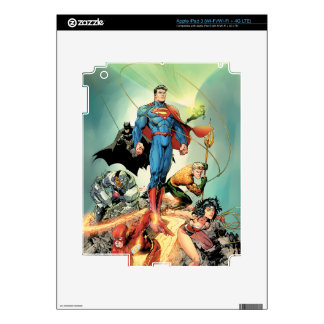 The New 52 Cover #3 Capullo Variant iPad 3 Skins