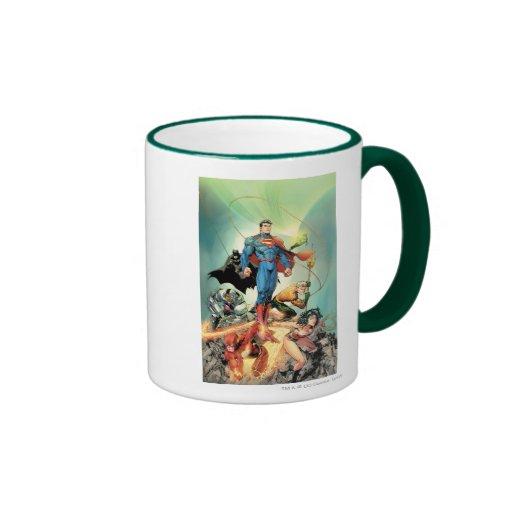 The New 52 Cover #3 Capullo Variant Ringer Coffee Mug