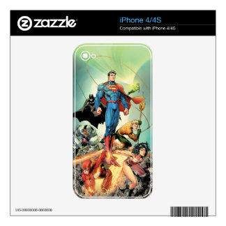The New 52 Cover #3 Capullo Variant Skins For iPhone 4