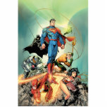 The New 52 Cover #3 Capullo Variant Standing Photo Sculpture