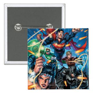 The New 52 Cover #4 2 Inch Square Button
