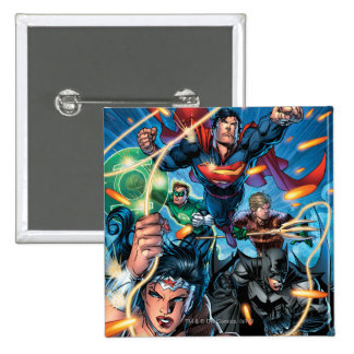 The New 52 Cover #4 Button
