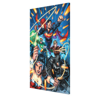 The New 52 Cover #4 Canvas Print