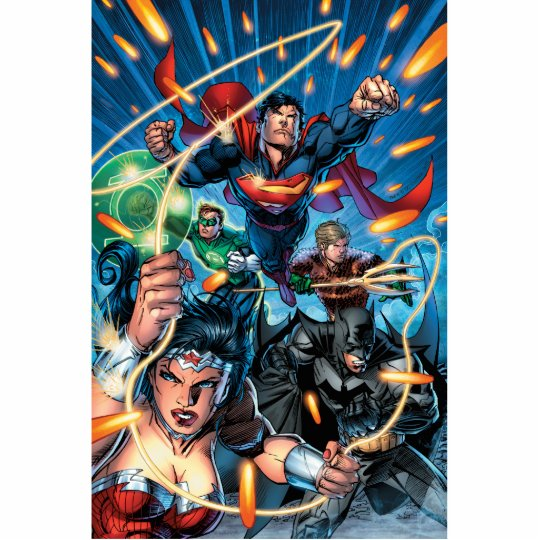 The New 52 Cover #4 Cutout