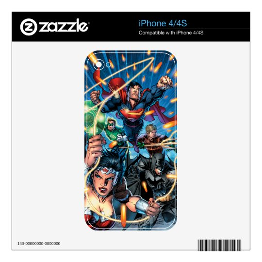 The New 52 Cover #4 iPhone 4S Skin