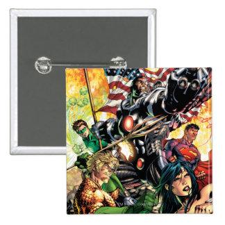 The New 52 Cover #5 2 Inch Square Button