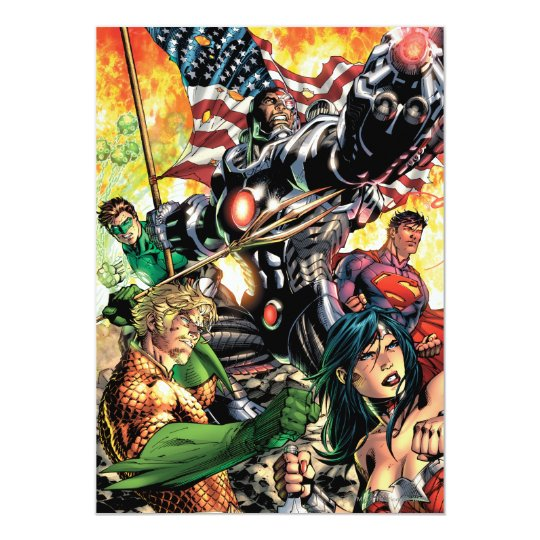 The New 52 Cover #5 Card