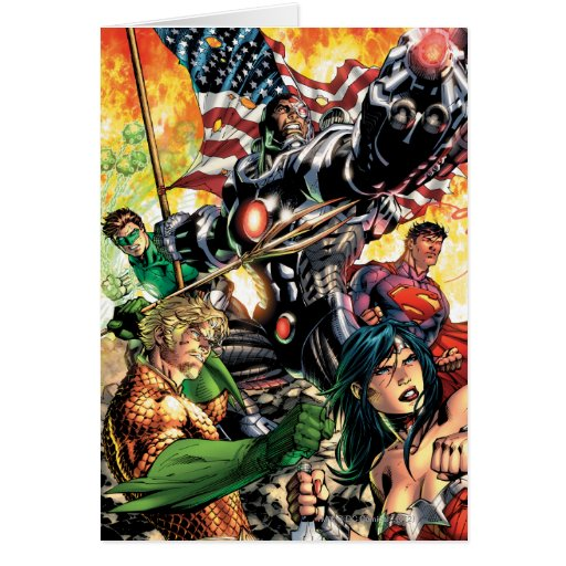 The New 52 Cover #5 Greeting Card