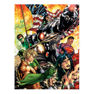 The New 52 Cover #5 Postcard