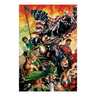 The New 52 Cover #5 Print