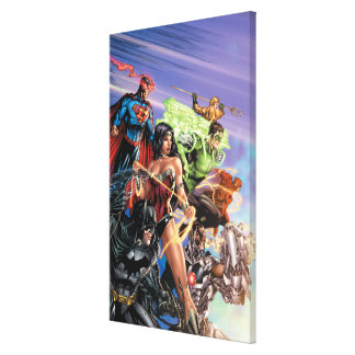 The New 52 Cover 5 Variant Gallery Wrapped Canvas