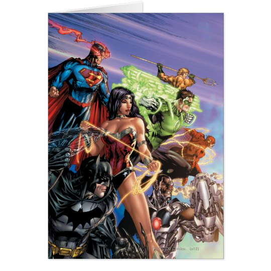 The New 52 Cover #5 Variant Card