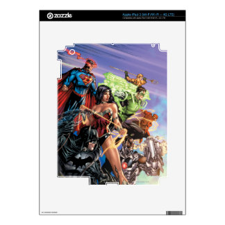 The New 52 Cover #5 Variant iPad 3 Skins