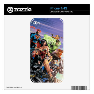 The New 52 Cover #5 Variant iPhone 4 Decals